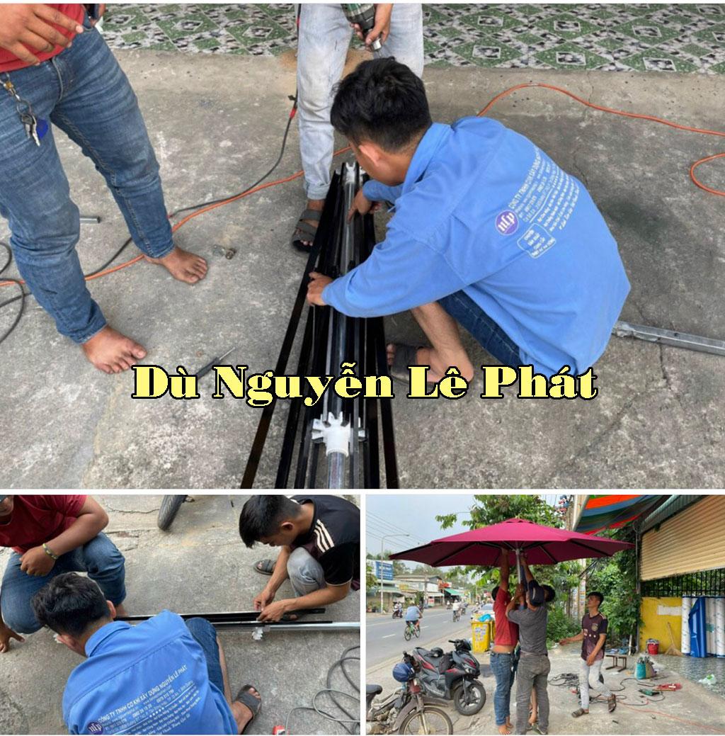 Những mẫu dù che nắng tại Đà Nẵng được ưa chuộng nhất.
