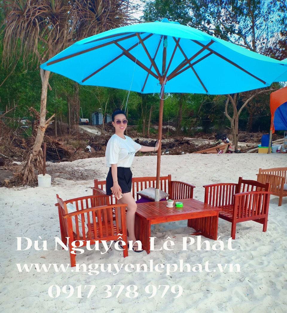 Dù che nắng quán cafe, dù che nắng bãi biển giá rẻ