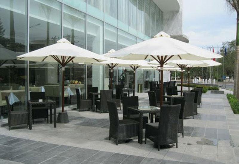 Dù Che Quán Cafe Quận 3 TPHCM