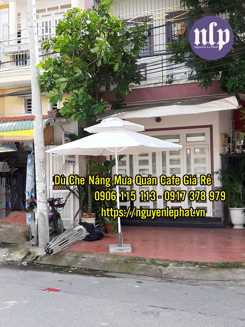 Bán dù che nắng đẹp tại Vũng Tàu - Dù Che Nắng Mưa Quán cà phê giá rẻ