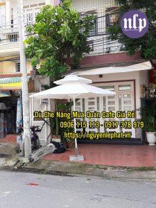 Cung cấp dù đứng tâm tròn quán cafe, hồ bơi, resort giá rẻ 2021